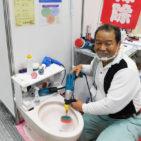 「トイレ掃除のプロ」が見せる実力 | アメニティ