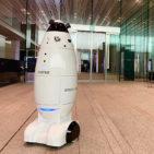 警備業務の負担を軽減する警備ロボット実証実験を経団連会館で実施