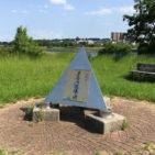 多摩川決壊の碑