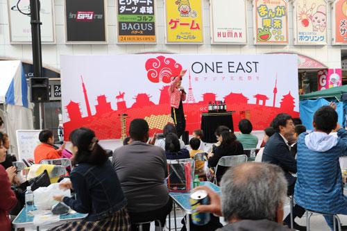 歌舞伎町で行われたONE-EAST-東アジア文化祭り