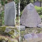 野良坊菜の碑ところ芋の碑